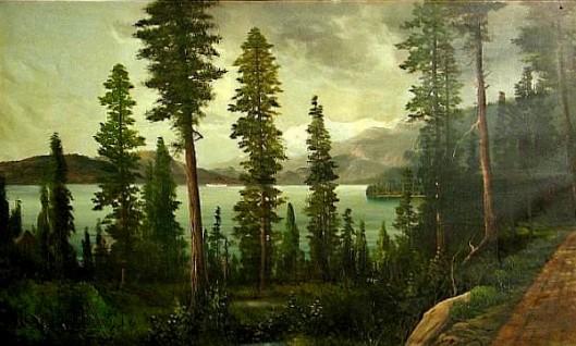 Evening On Lake Tahoe