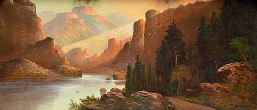 Grand Canyon Of Colorado In Arizona