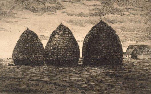 Haystacks At Barbizon