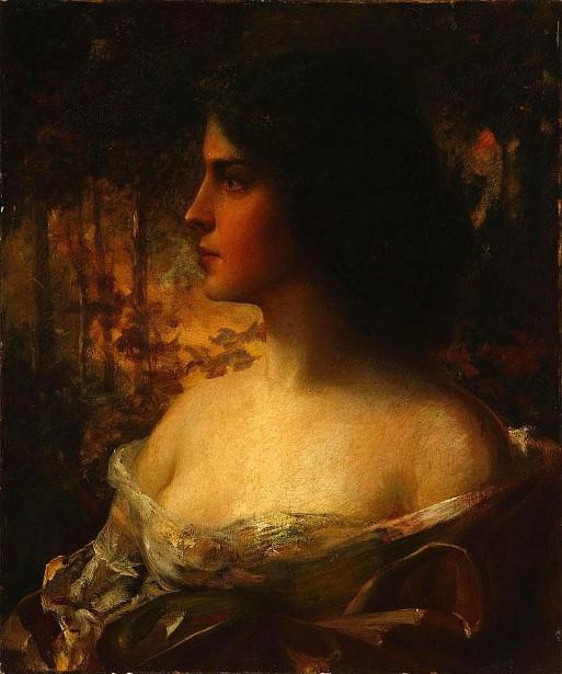 Hercilia - Woman In Profile