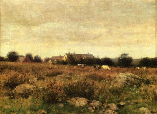 Houses In Pasture