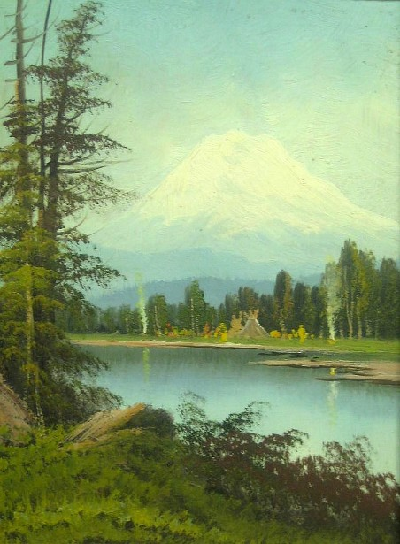 Indian Camp, Mt. Tacoma, Washington