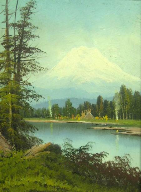 Indian Camp, Mt. Tacoma, Washington