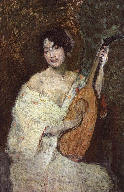 Lady with a Mandolin