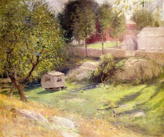 Landscape - Branchville, The Palace Car