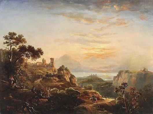 Landscape With Castles