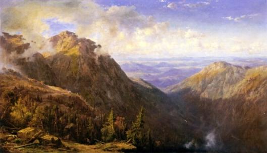 New Hampshire - White Mountain Landscape