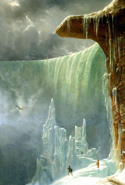 Niagara, The Table Rock - Winter
