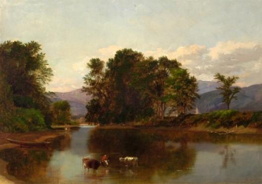 Pastoral Landscape - Saco Valley