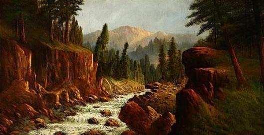 River In Roger Ranch, Oregon