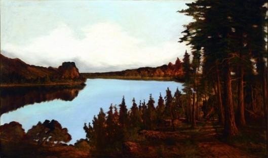 River Landscape, Autumn