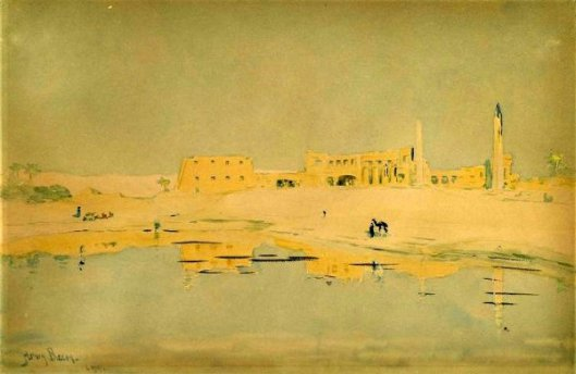 Ruins Of Luxor