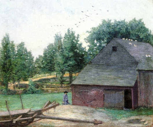 Summer In Connecticut - The Old Barn At Branchville