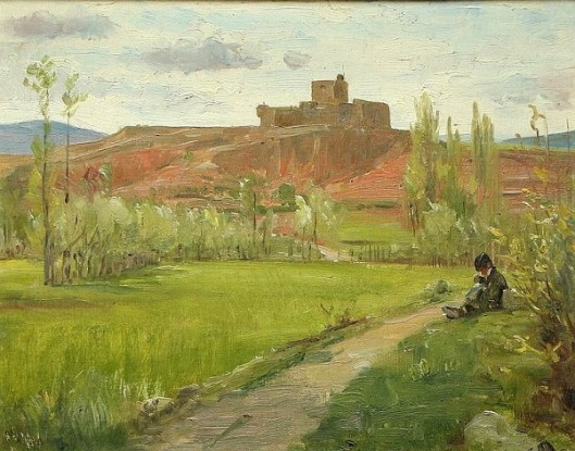 The Fort Of Urgell In Spain
