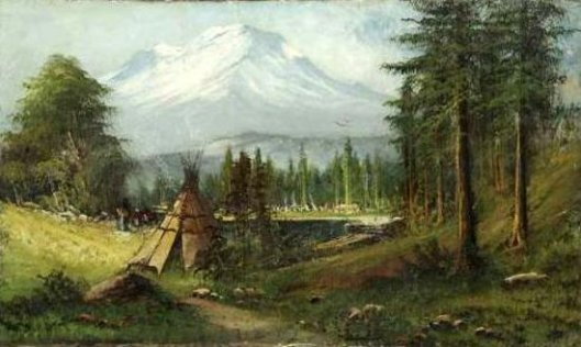 The Indian Encampment