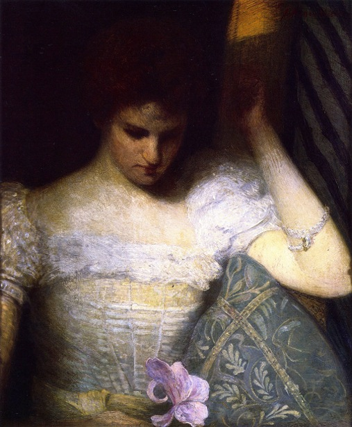 The Orchid - Woman With Orchid