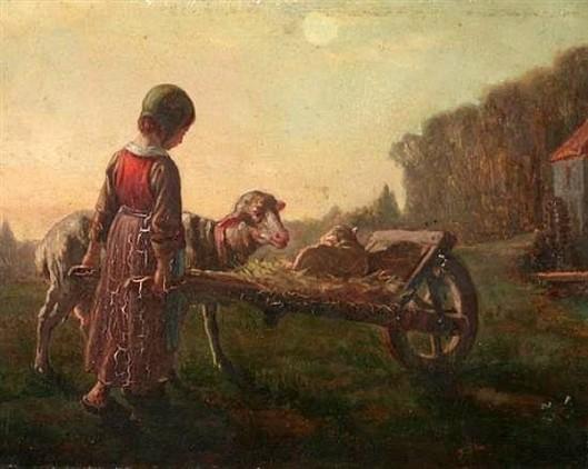 The Pet Lamb