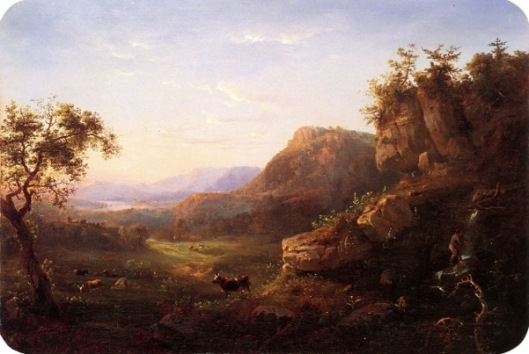 View Of The Hudson River Valley