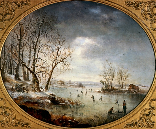 Winter Scene In New Jersey