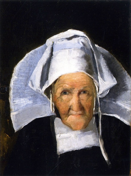 Woman In Normandy Cap