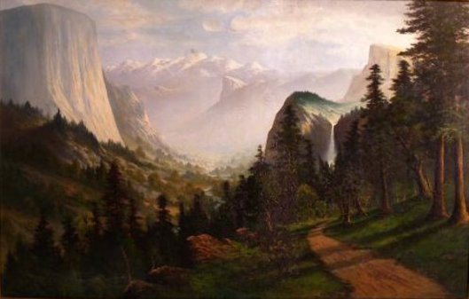 Yosemite Valley (signed C.N.Doughty)