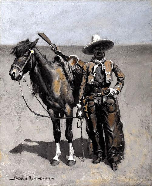 A Mexican Buccaro - In Texas