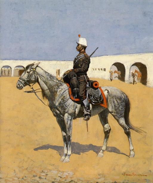 Cavalryman Of The Line, Mexico
