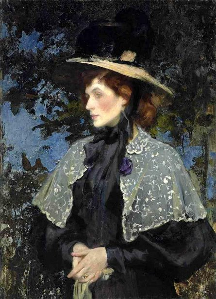 Florence Mary Cartwright, The Artist's Wife