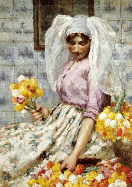 Flowergirl In Holland