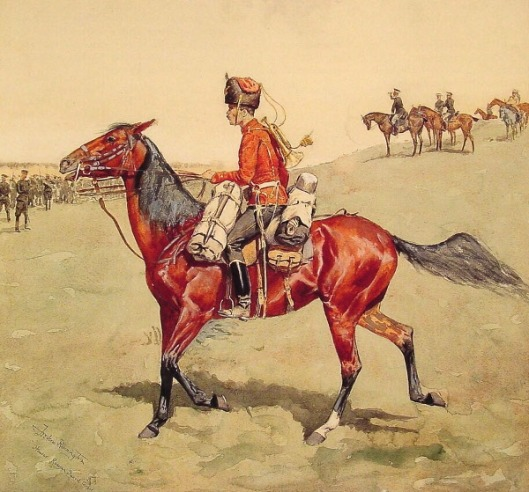 Hussar Russian Guard Corps