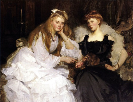 Lorna And Dorothy Bell, Daughters Of W. Heward Bell, Esq.