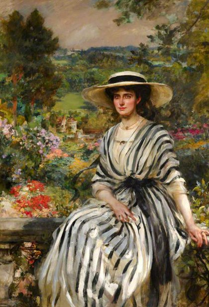 Mary Rosamond Anstruther (Mrs. Edward Windsor Hussey)