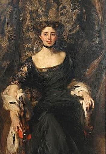 Miss Aline Henderson (Mrs. J. T. Wigan)