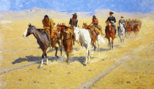 Pony Tracks In The Buffalo Trails