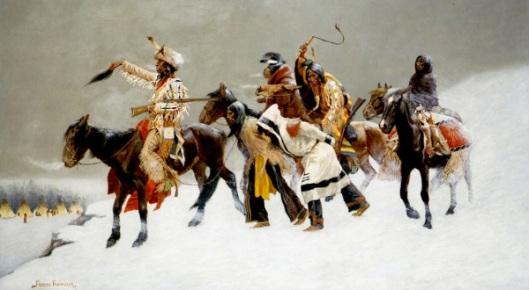 Return Of A Blackfoot War Party