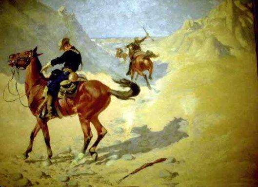 The Advance Guard - The Military Sacrifice