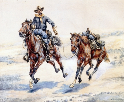 The Empty Saddle