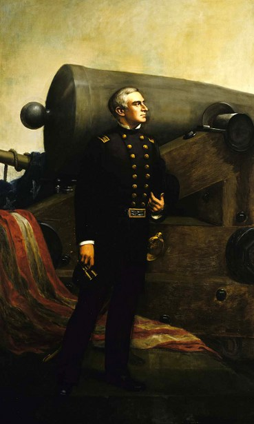 Major Robert Anderson - The First Gun At Fort Sumner