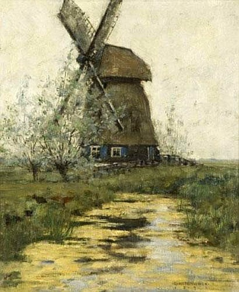 Windmill In A Landscape