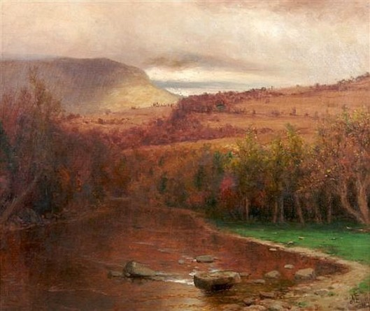 A River Among Hills