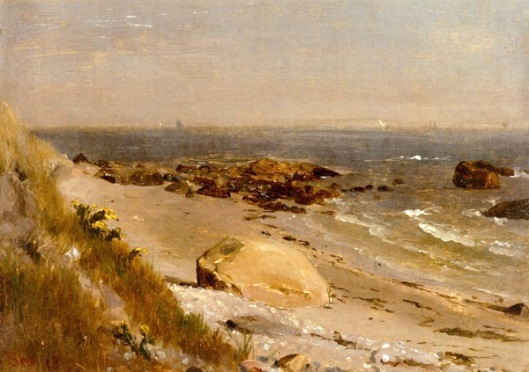 Beach Scene, Narragansett Bay