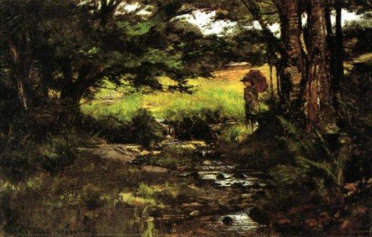 Brook In Woods