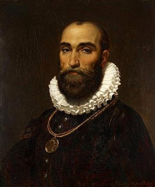 Bust Size Self Portrait (copied after a picture by E. Leutze)