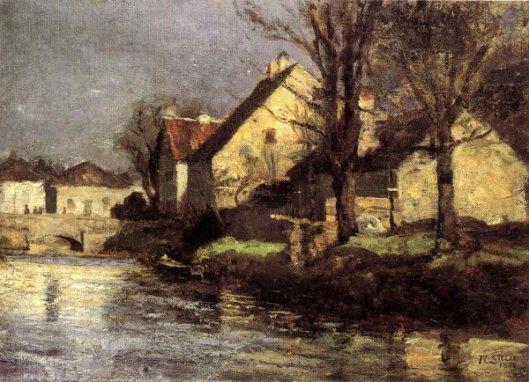 Canal, Schlessheim