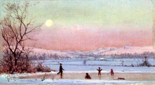 Ice Skating Near Hudson