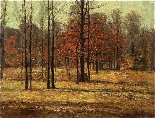 Indiana Landscape In Autumn