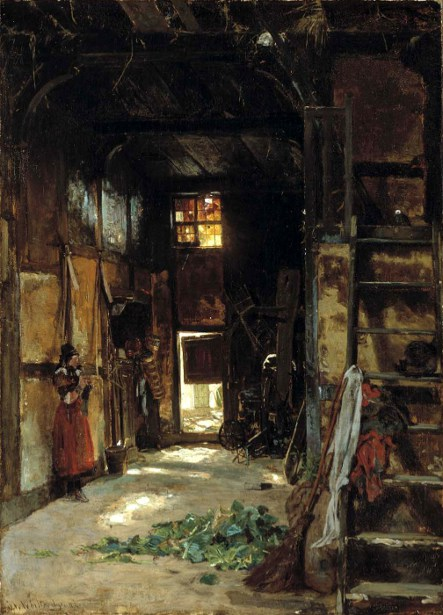Interior Of A Westphalian Cottage