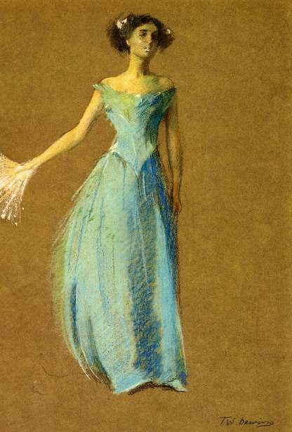 Lady In Blue - Annie Lazarus
