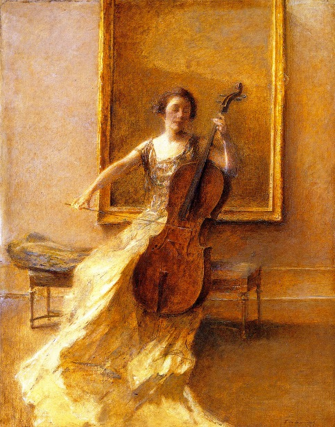 Lady With A Cello