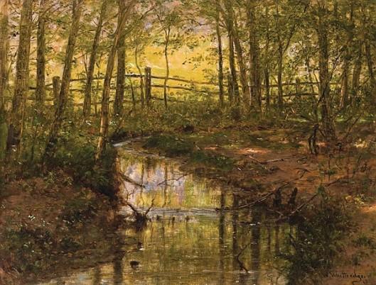 Landscape With Brook